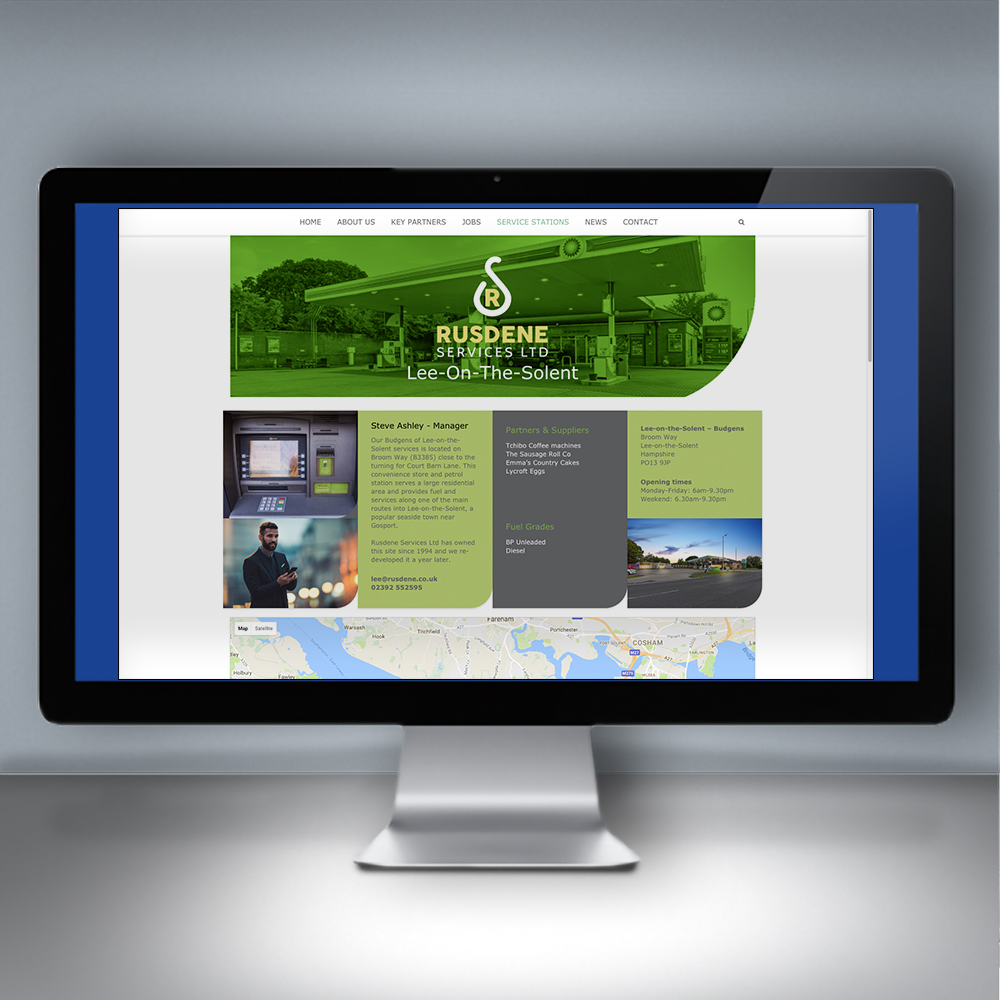 Rusdene Services Website