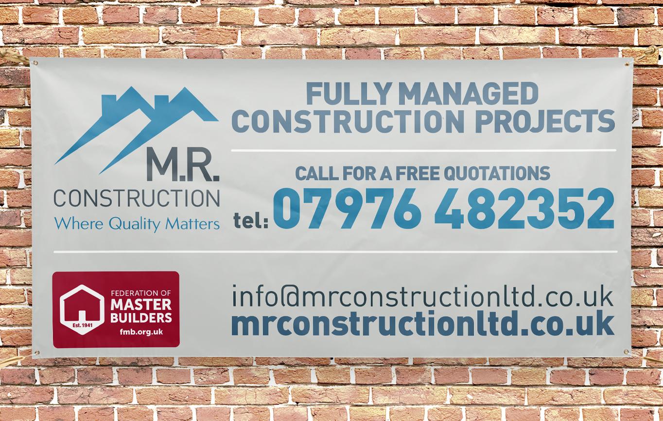 Branding Design for M.R. Construction