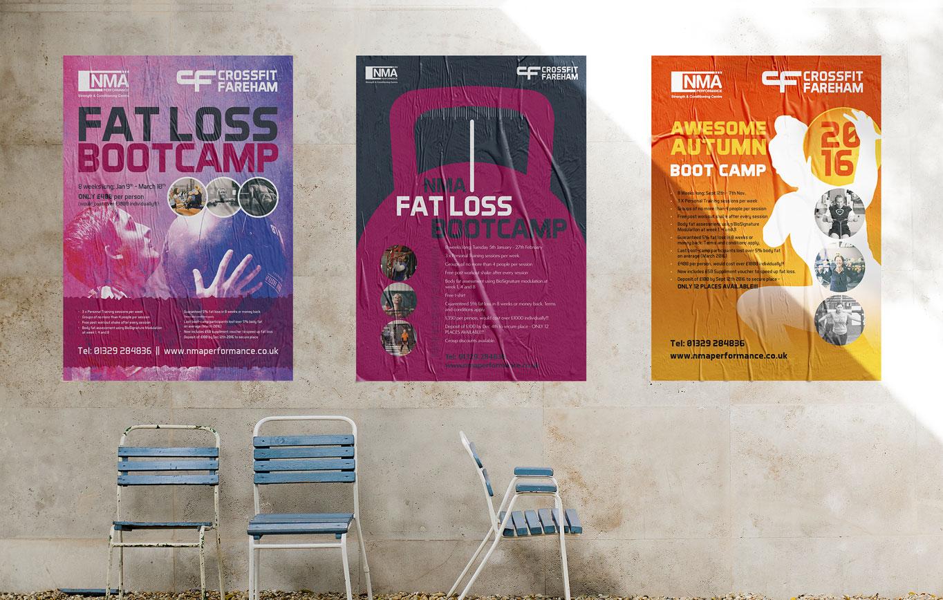 Poster Design for NMA Performance