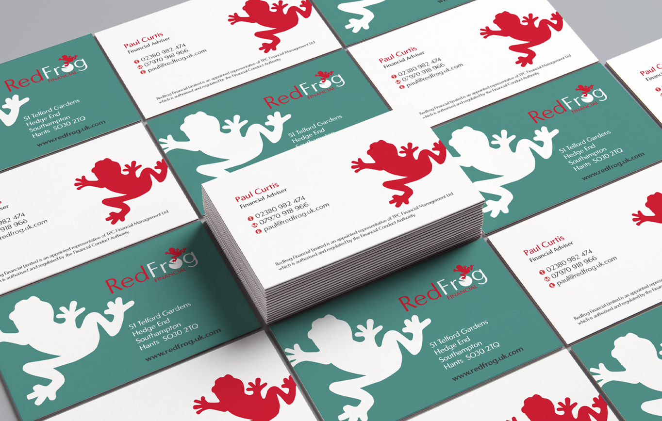 Branding Design for Redfrog Financial