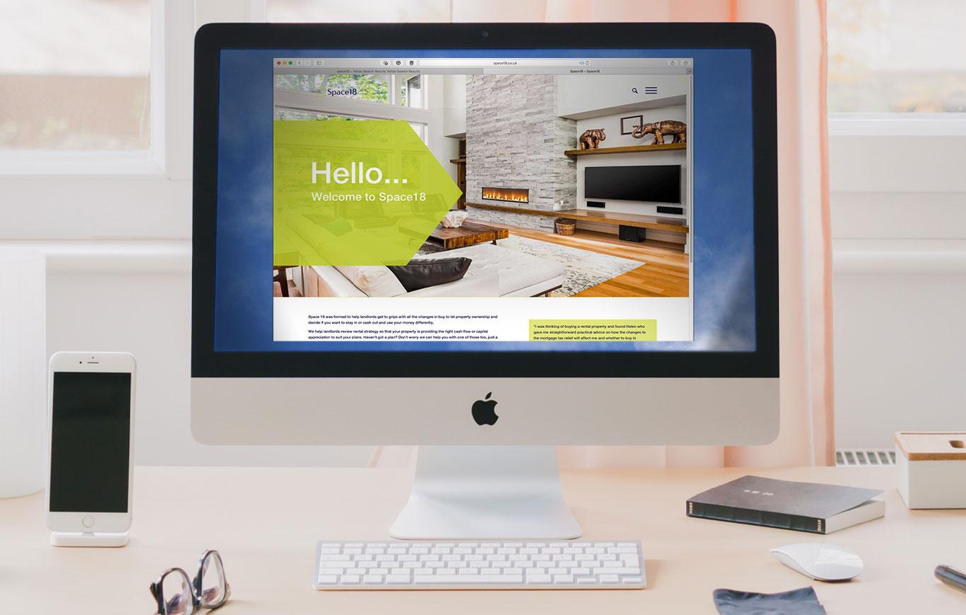 Website Design For Space 18