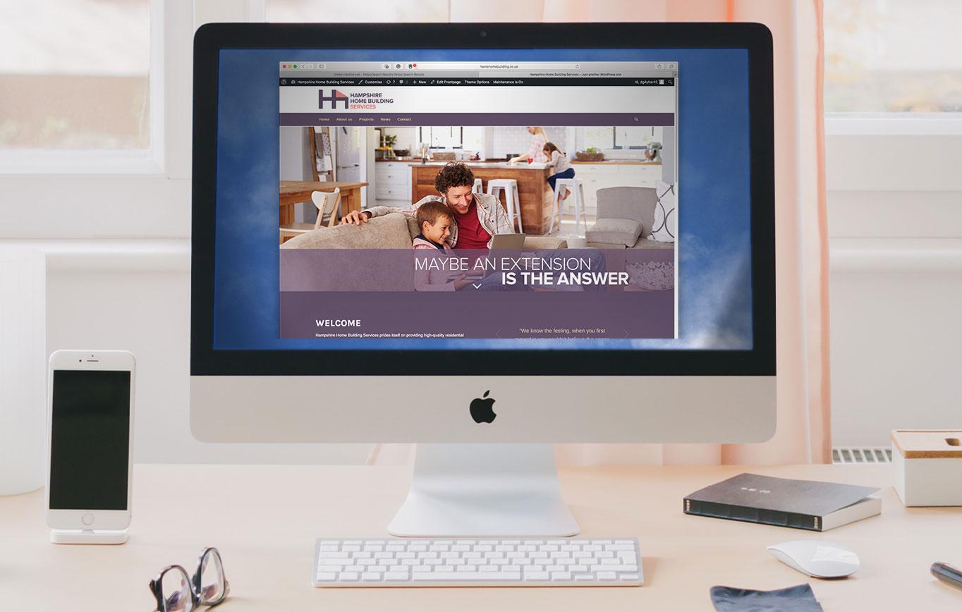 Website Design For Hampshire Home Building Services