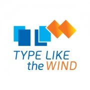 Type Like The Wind Logo