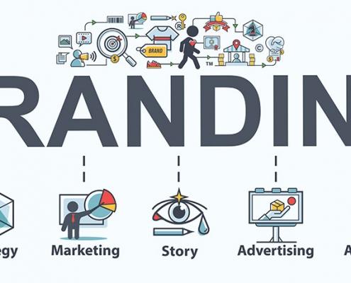 branding design header