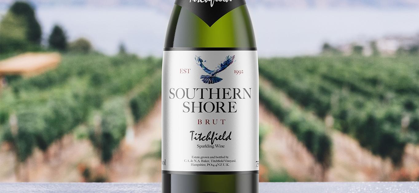 Titchfield Wine Brut Bottle Label