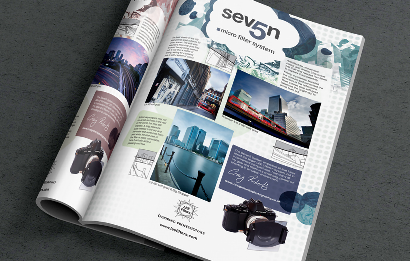 Lee Filters Seven 5 Advert