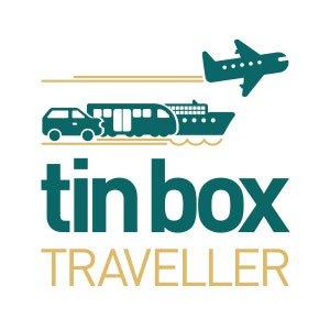 Tin Box Traveller Logo Design