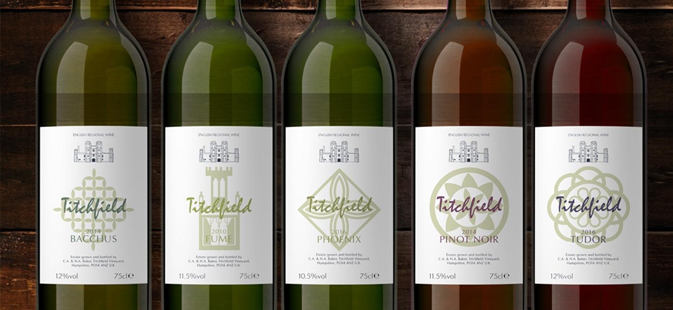Titchfield Wine Bottle Label